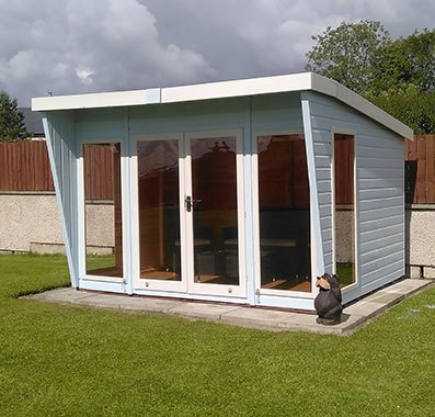 10 x 8 (3.06m x 2.39m) Shire Highclere Summerhouse