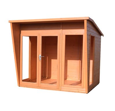8 x 8 (2.3m x 2.4m) Shire Highclere Summerhouse