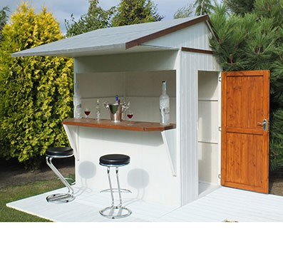 6 x 4 (1.79m x 1.19m) Shire Garden Bar and Store