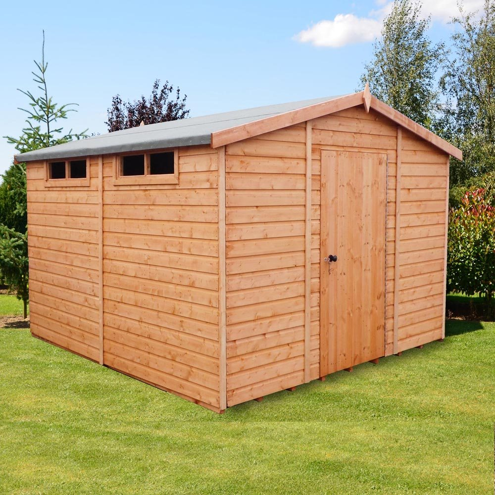 Garden Sheds 6x7: Shire Security Professional Shed 10 X 10 (2.99m X 2.99m