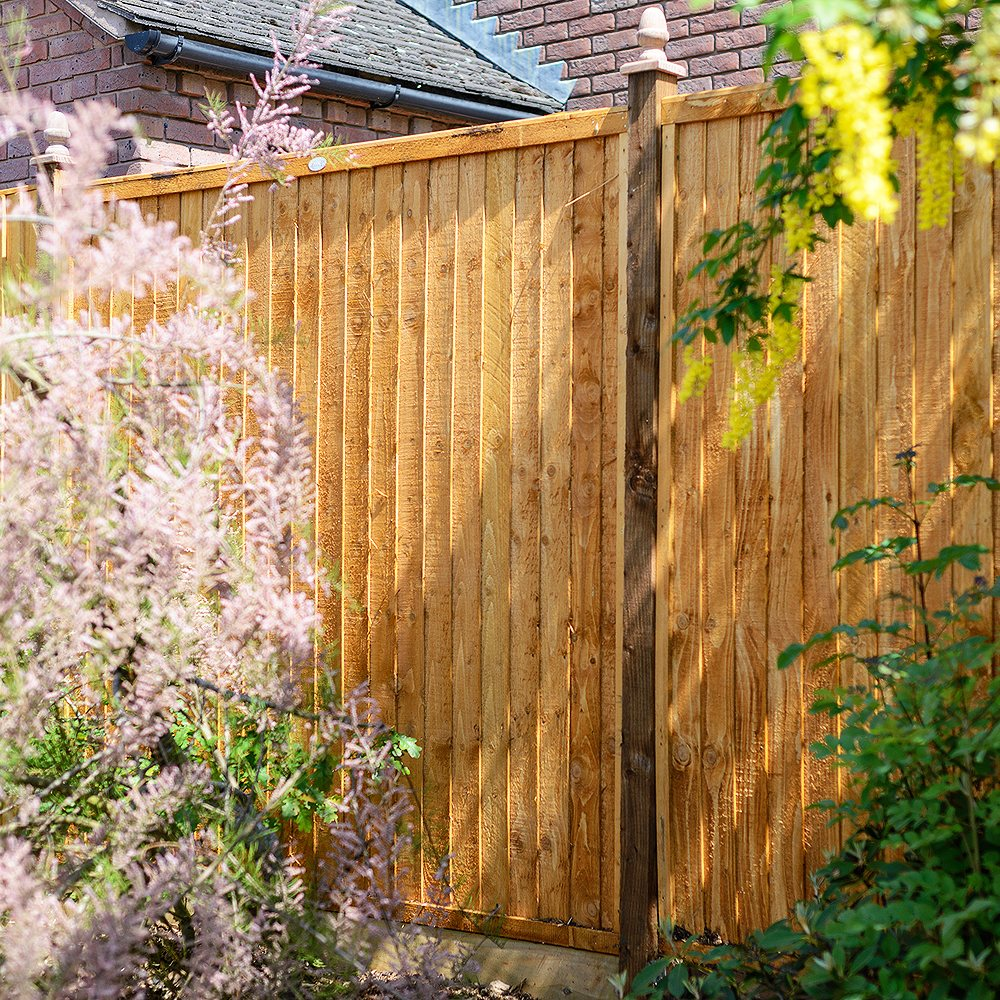 Grange Closeboard Pressure Treated Fence Panel 4ft 1200mm