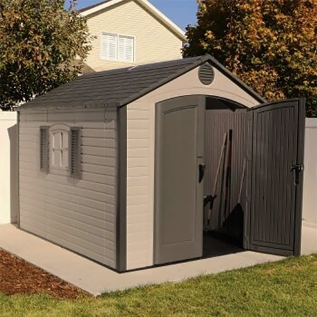 Special Edition Lifetime Plastic Shed 8 X 10 Elbec