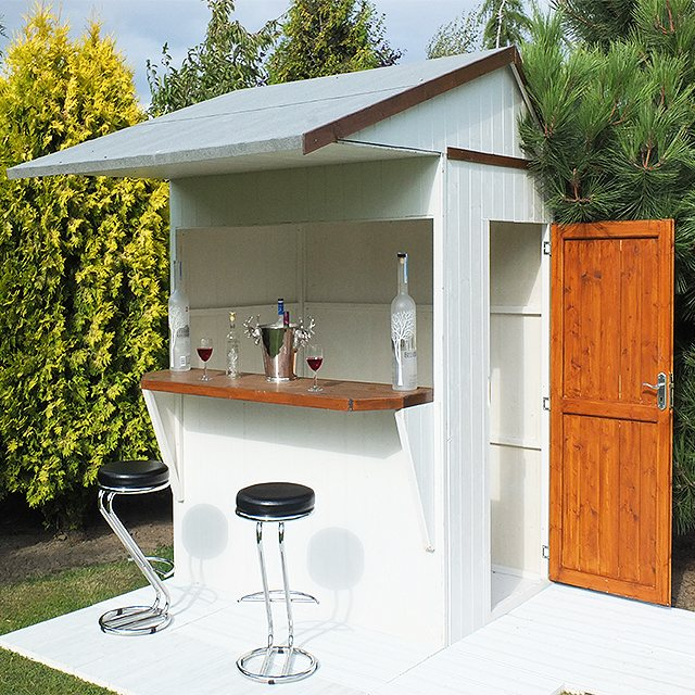 Outdoor Man Cave Ideas Sheds
