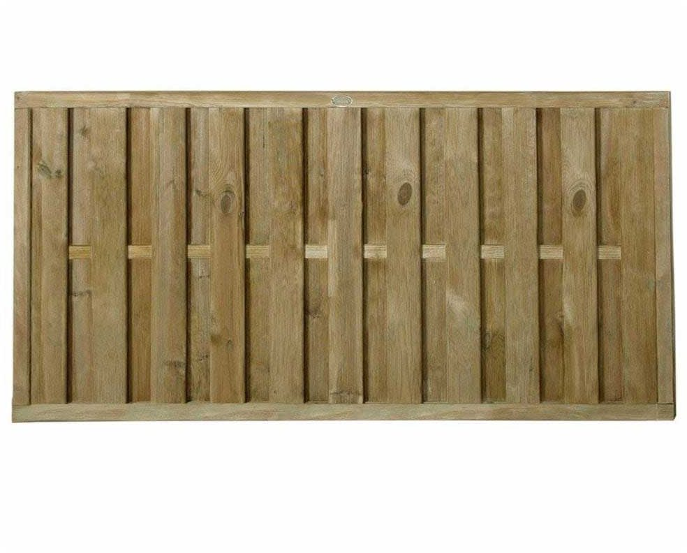 3ft High 900mm Forest Vertical Hit Amp Miss Fence Panel