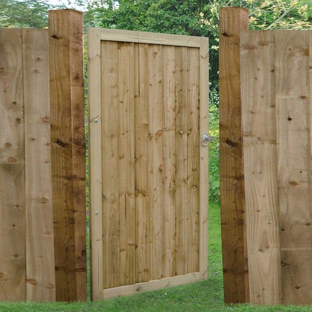 Wooden Garden Gate 6FT Cottage Style ***FREE DELIVERY*ANY SIZE//STYLE**