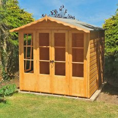 7 x 7 (1.98m x 2.05m) Shire Kensington Summerhouse