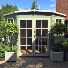 Shire Hampton Corner Summerhouse - Dimensions