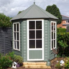 6 x 7 (1.87m x 2.16m) Shire Summerhouse Gazebo