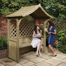 The Party Arbour as an attractive arbour seat