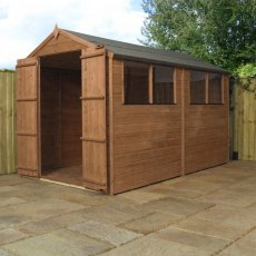 Mercia 10 x 6 (3.00m x 1.90m) Mercia Shiplap Shed with Double Doors