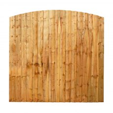 Mercia 6ft High (1829mm) Mercia Vertical Feather Edge Domed Fence Panels