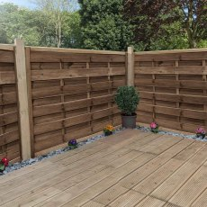 4ft High (1200mm) Mercia Fernwood Pressure Treated Fence Panels