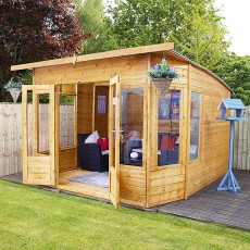 10 x 10 (2.96m x 3.15m) Mercia Helios Summerhouse