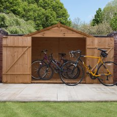 3 x 7 (0.849m x 2.22m) Mercia Shiplap Cycle Storage Shed