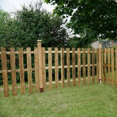 Palisade Flat Top Fencing