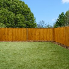 3ft High (915mm) Mercia Vertical Feather Edge (Flat Top) Fence Panels