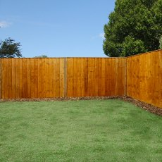 4ft High (1220mm) Mercia Vertical Feather Edge Flat Top Fence Panels