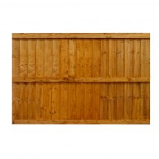 Mercia 4ft High (1220mm) Mercia Vertical Feather Edge Flat Top Fence Panels