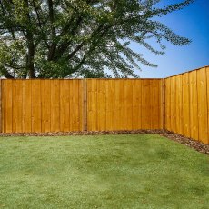 4ft High (1220mm) Mercia Closeboard Vertical Hit and Miss Fence Panels