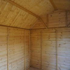 10 x 8 Mercia Dutch Barn Shed - Pressure Treated - internal