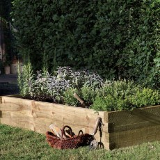 6 x 3 (1.80m x 0.90m) Caledonian Rectangular Raised Bed