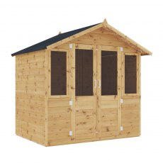 Mercia 7 x 5 (2.30m x 1.70m) Mercia Shiplap Traditional Summerhouse