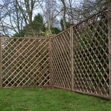 6ft High Mercia Diamond Trellis - Pressure Treated