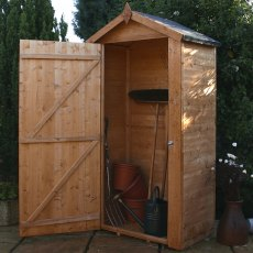 2 x 4 (0.63 x 1.16m) Mercia Tongue and Groove Sentry Box Shed