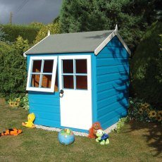 4 x 4 (1.19m x 1.19m) Shire Bunny Playhouse