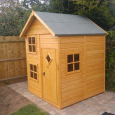 Shire 5 x 6 (1.60m x 1.67m) Shire Croft Playhouse