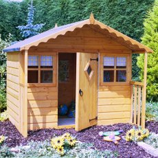 6 x 5 (1.79m x 1.69m) Shire Cubby Playhouse