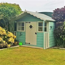 Shire 6 x 5 (1.79m x 1.69m) Shire Cubby Playhouse