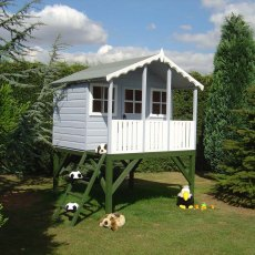 6 x 6 (1.79m x 1.79m) Shire Stork Playhouse inc platform
