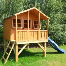 Shire Stork Tower Playhouse including optional slide