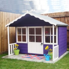 Shire Pixie Playhouse in a garden setting