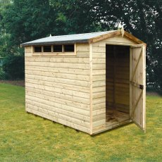 8 x 6 (2.39m x 1.79m) Shire Security Professional Shed