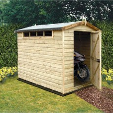 9 x 6 (2.69m x 1.79m) Shire Security Professional Shed