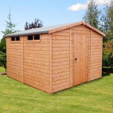 10 x 10 (2.99m x 2.99m) Shire Security Professional Shed