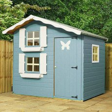 7 x 5 (2.13m x 1.49m) Mercia Double Storey Playhouse