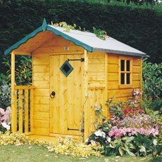 4 x 4 (1.19m x 1.19m) Hide Playhouse