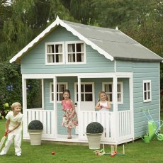 8 x 9 (2.39m x 2.69m) Lodge Playhouse