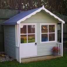 Shire Kitty Playhouse painted in
