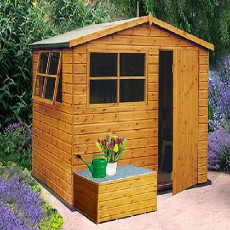 6 x 8 (1.79m x 2.39m) Shire Wroxham Professional Shed