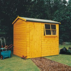 6 x 8 (1.79m x 2.39m) Shire Suffolk Professional Shed