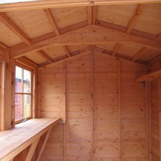Goodwood 12 x 8 (3.59m x 2.39m) Goodwood Bison Professional Apex Shed