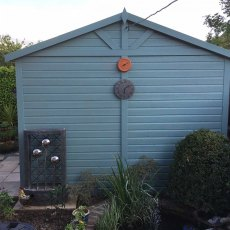 Shire Mammoth Professional Apex Shed - detail of double doors
