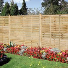 6ft High (1800mm) Grange Professional Lap Fencing Packs - Pressure Treated