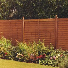 5ft High (1500mm) Grange Supafence Fencing Packs - Golden Brown