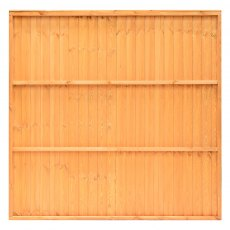 Grange 4ft High (1200mm) Grange Closeboard Fencing Packs - Golden Brown - Pressure Treated