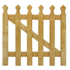 3ft High (900mm) Grange (Tulip) Palisade Gate